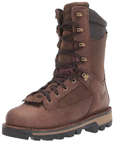 Danner mens Powderhorn Insulated 1000g Hunting Shoes, Brown - Full Grain, 12 US