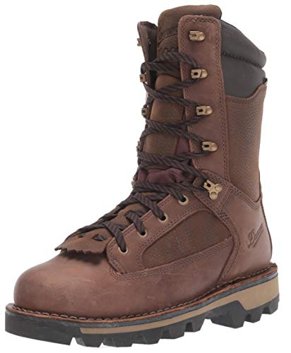 Danner mens Powderhorn Insulated 1000g Hunting Shoes, Brown - Full Grain, 9 US