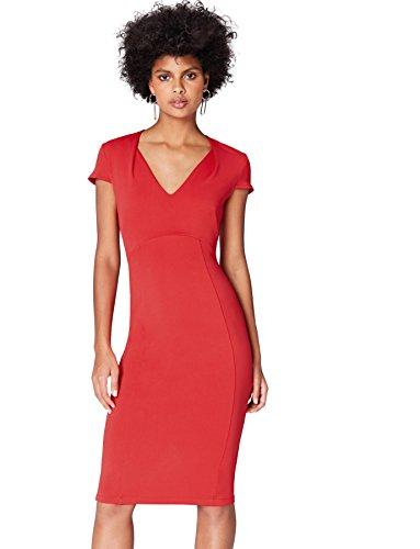 Marca Amazon - find. Vestido Ajustado Mujer