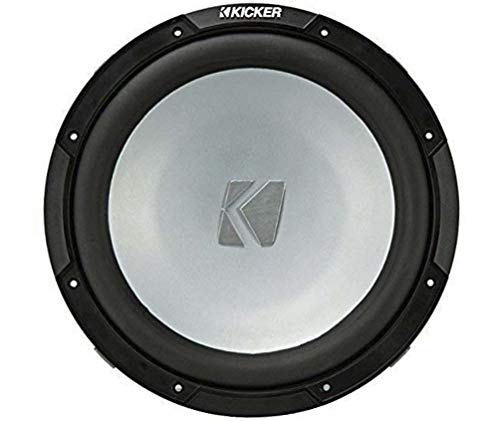 Kicker KM10 10-inch (25cm) Weather-Proof Subwoofer for Enclosures, 2-Ohm