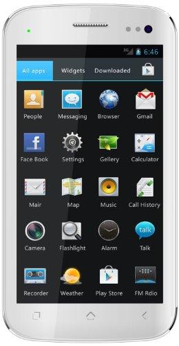 Mobistel Cynus T2 Smartphone (12,7 cm (5 Zoll) Touchscreen, 12 Megapixel Kamera, 4GB Speicher, Dual-SIM, Android 4.0) weiß