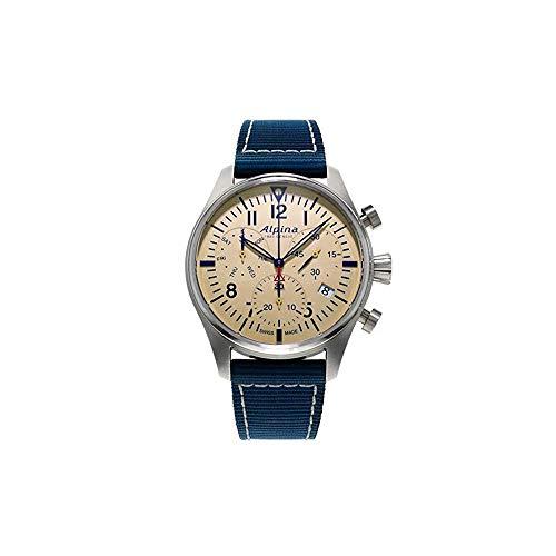 Alpina Geneve Startimer Pilot Quartz Chronograph AL-371BG4S6 Cronógrafo para Hombres