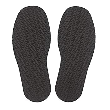 KANEIJI Shoe Replacement Rubber Out Sole Different Colors,4mm Thickness one Pair Dark Brown