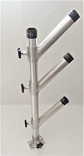 High Seas Gear Rod Holder Tree Triple Adjustable