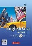 English G 21 - Ausgabe A / Band 4: 8. Schuljahr - Workbook mit Audio-Materialien: Workbook mit CD-ROM und Audios online
