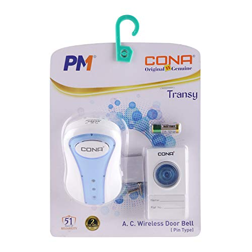CONA Transy 2821 A.C. Wireless Door Bell with 32 melodies for selection