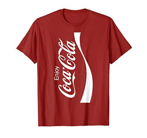 Coca-Cola Coke Can Vertical Logo Costume Premium T-Shirt