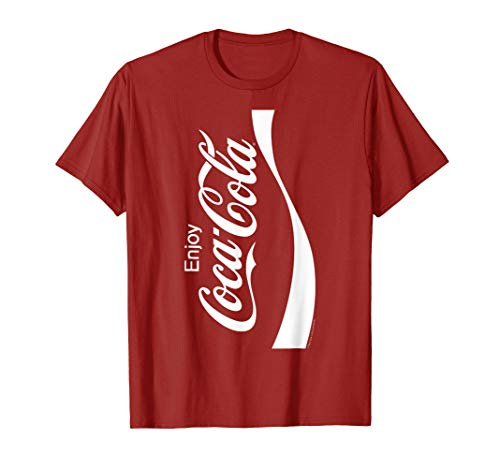Coca-Cola Coke Can Vertical Logo Costume Graphic T-Shirt