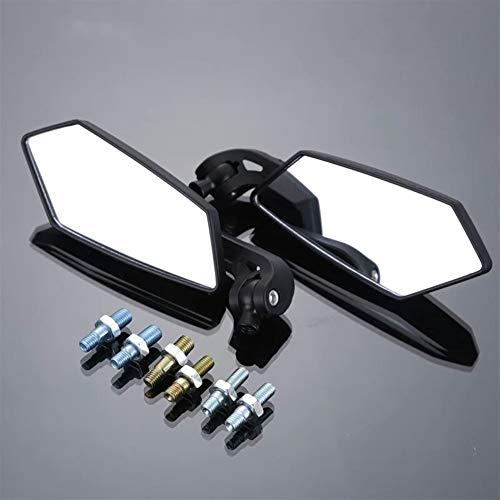 Un Conjunto de Espejos universales Trasera de la Moto Vespa de 8 mm for Honda Yamaha Suzuki Accesorios para Motocicletas