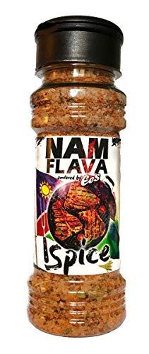 NamFlava Grillgewürz von EES - Namibisches Grillgewürz mit naturreinem Meersalz | Koriander, Paprika, Petersilie, Knoblauch, Zwiebeln und ganz viel NamFlava - namibisches Aroma | 150 g