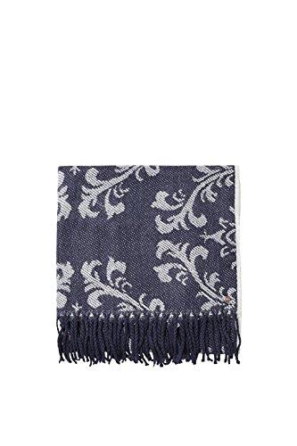 ESPRIT Damen 096EA1Q011 Schal, Blau (Navy 400), One size (Herstellergröße: 1SIZE)