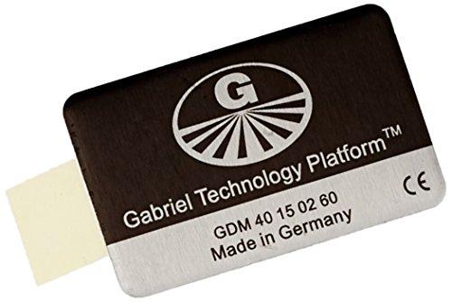 """Gabriel-Chip """"SmartPhone mit fest integriertem Akku"""" – silberfarben"""