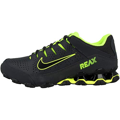 Nike BW2 Sports Golf Reax 8 TR Mens Running Training Shoes Anthracite/Black-Volt