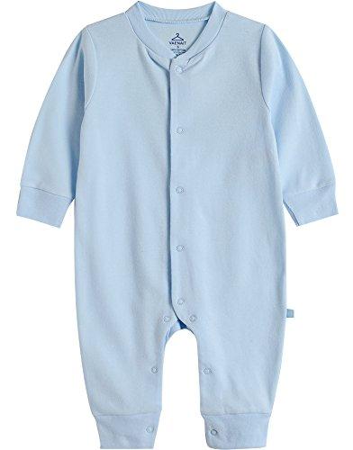 Vaenait Baby sau TONGLING Combinaison Manches Courtes Grenouillère Jeu pour bébé Cute Angel Blue - Bleu - S