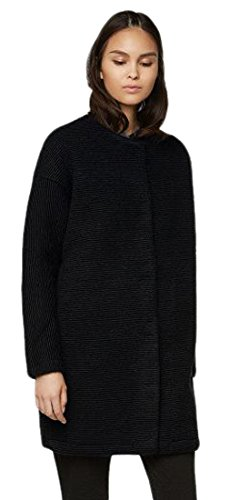 Bench Damen Aptness Strickmantel, Black, S