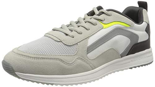 Marc O'Polo Herren 00123713501610 Sneaker, Weiß (White Combi 115), 44 EU