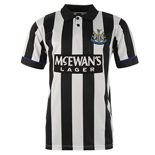 Score Draw Hombre Newcastle United 95 Camiseta Deportiva Negro/Blanco S