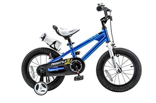 Royalbaby RB12B-6B BMX Freestyle Kids Bike, Boy's Bikes and Girl's Bikes with training wheels,...