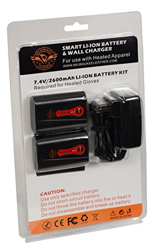 Milwaukee Leather BATTERYGLOVE Universal Twin Battery Pack (for Gloves)