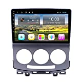 GOFEI Android 10 Car Radio DVD Player for Mazda 5 2005-2010, Support GPS Navigation Audio Video Steering Wheel Control Bluetooth Hands Free,WiFi 2+32g