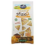 Matt SfizioSì Riso Nero Integrale, Mais Bio Croccanti Snack...