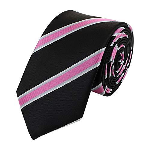 Fabio Farini - Cravate élégante pour homme rayé en 6cm de large, de différentes couleurs pour toutes les occasions comme le mariage, la confirmation,