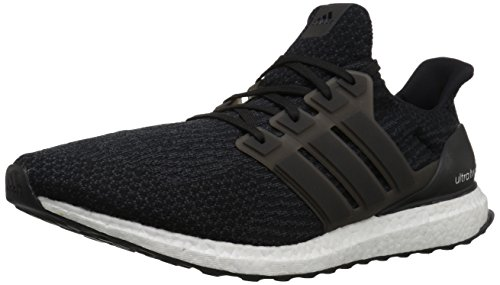 adidas Men's Ultraboost Running Shoe, Black/Dark Grey, 8.5 M US