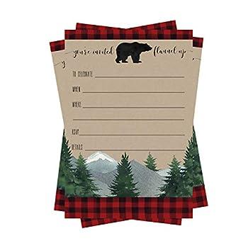 Best lumberjack party invitations Reviews