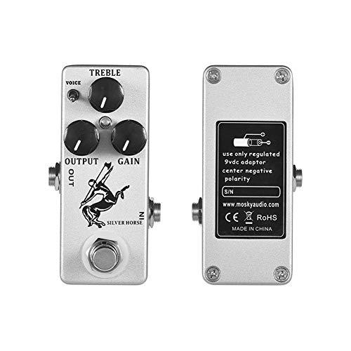 XuBa Mo-sky Silver Horse - Pedal de efectos para guitarra eléctrica