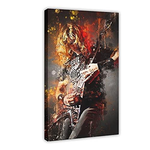 Dave Mustaine Megadeth - Póster de lienzo para pared, decoración de salón,...