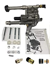 NEW Troy Bilt Upgrade Replacement Pump Manufacturer and Seller Warranty - Factory Tested! Built-in Unloader and Chemical Injector Built-in Easy Start Valve Includes Brass Thermal Relief Valve Includes Engine Shaft Key