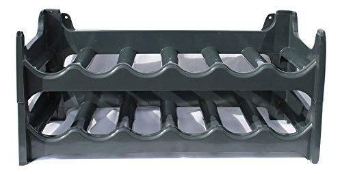 28 x 28 x 14,5 cm Compactor Kitchen RAN8663 Range-Bouteilles M/étal Bronze Mat