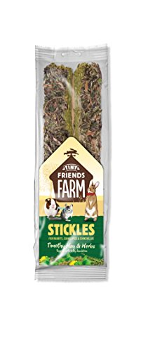 Supreme Petfoods Tiny Friends Farm Timothy Heno y Hierba Stickles 100 g
