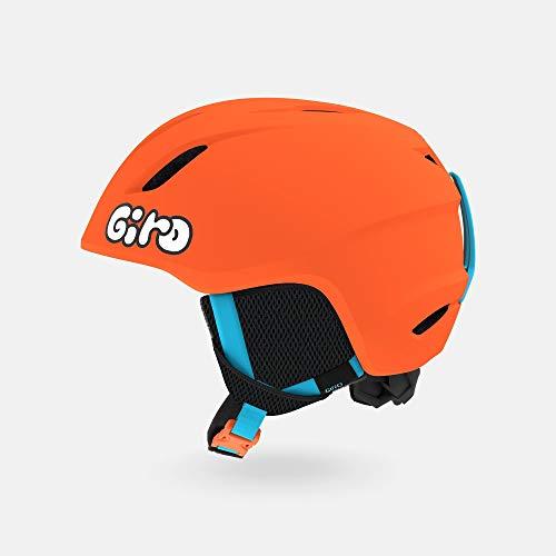 Giro Casco de nieve juvenil Launch – naranja brillante mate/jalea – talla S (52-55,5 cm) (2021)