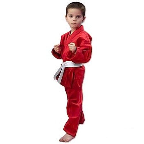 ProForce 6oz Student Karate Gi / Uniform - Red - Size 0