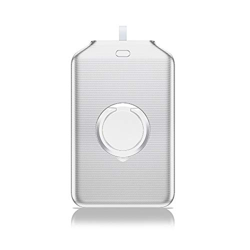 Mini Power Bank Quick Charge Station Wireless Power Bank Portatile per iPhone 12 Mini PRO Mini PRO Stand Stand Ring Anello VARICELLO Portatile POWERBANK BANKED (Color : White)
