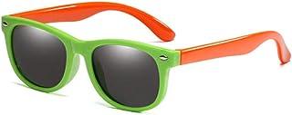 FJCY - Bolsa de Goma para niños Gafas de Sol polarizadas Gafas de Sol para niños Niñas Niños Gafas para bebés Gafas-R01-C9_Bolsa Rosa