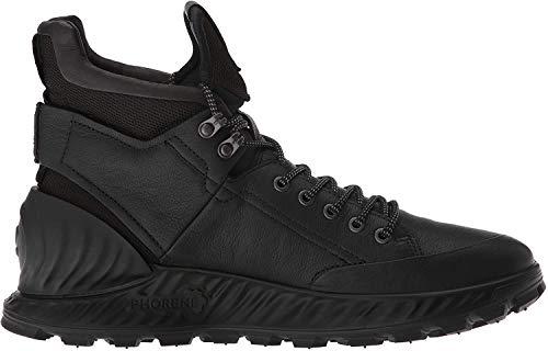 Ecco Herren EXOSTRIKEM Hohe Sneaker, Schwarz (Black/Black 51052), 42 EU