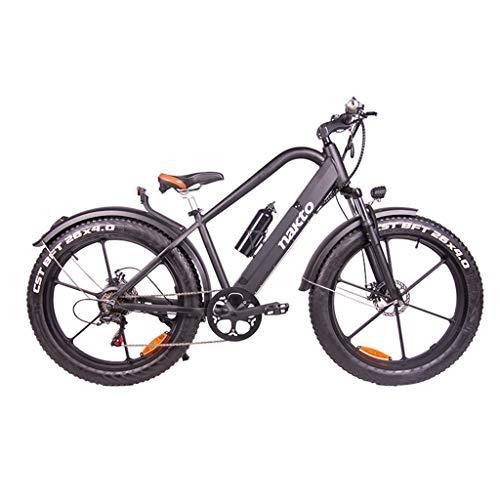 FYJK 26inch Fat Tire Bicicleta eléctrica 400W 48V Nieve E-Bici Shimano 6...