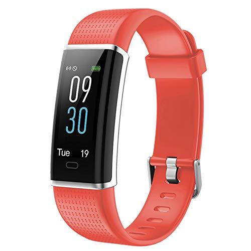 Lintelek Pulsera Actividad con Monitor de Calorías, Sueños y Ritmo Cardíaco, Reloj Inteligente Compatible con iOS y Android para Hombre, Mujer y Niño