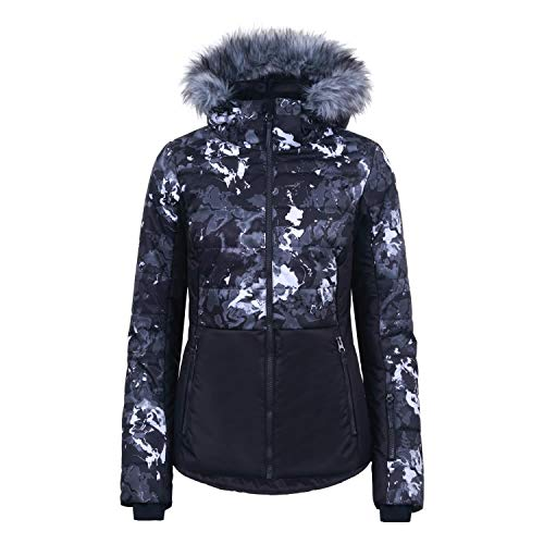 ICEPEAK Damen Skijacke Visalia 53290 Black 48
