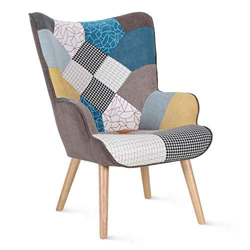 fauteuil patchwork centrakor