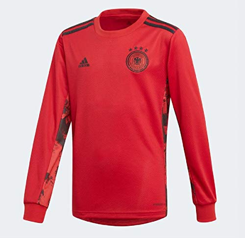 adidas Jungen DFB GK JSY Y Long Sleeved T-Shirt, Glory red, 1516