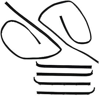 Window Sweep & Run Channel Weatherstrip Seals Kit for 80-86 Bronco F100 F150 250