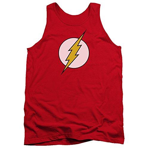 Tank Top: The Flash - Flash Logo Size L