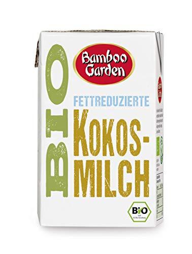 Bamboo Garden Bio Kokosmilch fettreduziert, 250 ml