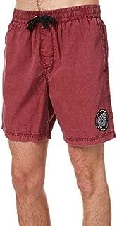 Santa Cruz Men's Cruzier Mens Beach Short Cotton Red