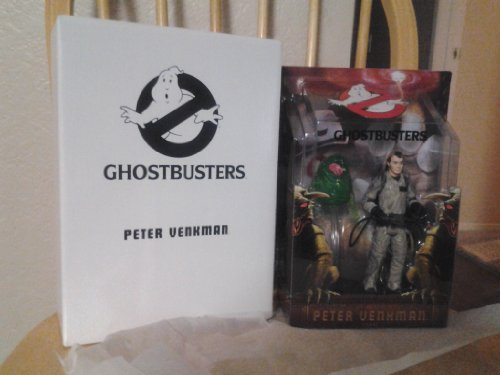 Mattel Ghostbusters 16 cm Figurine : Peter Venkman with Slimer