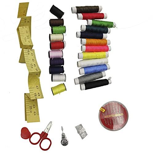 EUROXANTY Set de Costura | Pack para Costura | Set Completo para Costura | Material Resistente | de Colores | Pack de Inicio |