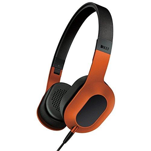KEF M400 Design Kopfhörer sunset orange